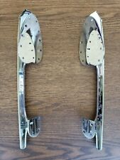 "Vintage Unsharpened Ice Skating Blades - John Wilson Gold Seal (Size 10 1/2"")"