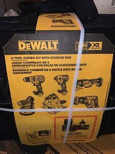 DeWalt DCKSS699M2 6 Tool Brushless Cordless Combo Kit with Rolling Storage Bag