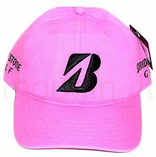 NEW BRIDGESTONE GOLF TOUR RELAX ADJUSTABLE COLLECTION CAP HAT w/TOUR BRAND LOGOS