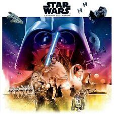 "DateWorks Star Wars 2020 Wall Calendar 16 Months 12""X12"" w"