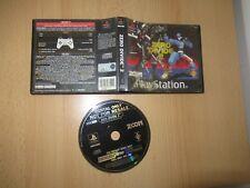 Zero dividir 2 ps1 Playstation 1 Ex alquiler PAL Versión