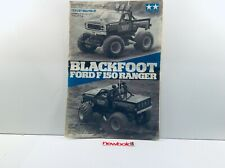 Vintage Tamiya Blackfoot Ford 150 Ranger, Kit 5858, 1986, Used.