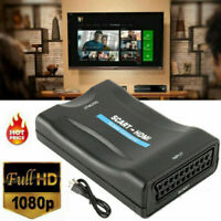 1080P SCART to HDMI Audio Video Converter Adapter for HDTV DVD SKy PS 3 4 PC SZ