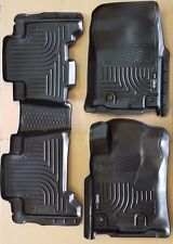 [SALE] HUSKY LINERS FLOOR MAT FRONT & 2nd ROW 3 Pc Set for 13-15 Toyota 4Runner