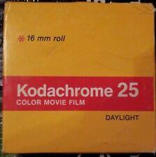 Kodak Kodachrome movie 25 film 8mm, Color Movie Film double 16 mm roll KM 449