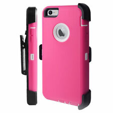 Defender Case for Apple iPhone 8 8+ 7 6S 6 Plus(Belt Clip Holster Fits Otterbox)
