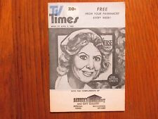 April 5, 1980 TV Times TELE-VUE(MICHAEL  LEARNED/ROBERT  REED/NURSE/THE WALTONS)