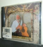 JOHN MCEUEN - Acoustic Traveller - 15 TRACK MUSIC CD   -g