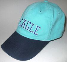56f5e592c06d5 New ListingMENS AMERICAN EAGLE NU-FIT AQUA GREEN BLUE HAT FITTED CAP SIZE  L XL