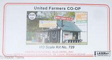 American Model Builders, Inc HO #729 United Farmers Co-op -- Laser-Cut Wood Kit