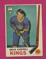 1969-70 OPC # 106 KINGS BRIAN CAMPBELL  GOOD ROOKIE CARD (INV# A1588)