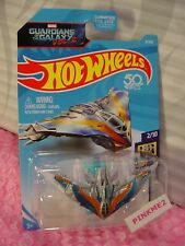 🎬MARVEL GUARDIANS THE GALAXY vol 2 MILANO #8 fifty✰gray✰2018 Hot Wheels Case B