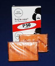 2 Pieces Kojie San Skin Lightening Soap 65grams 100% AUTHENTIC !!!