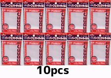 10x KMC CARD  100 PERFECT FIT SIZE SOFT SLEEVES for MTG Pokemon 89x64mm