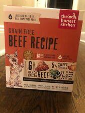 The Honest Kitchen Grain Free Recipe Dog Food- Beef Flavor 4 lb exp 9/25/20
