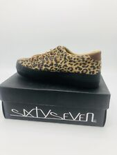 SIXTYSEVEN CHALLENGER'S LINE Leopard Shoe Size 38 Or 8 US Lace Up