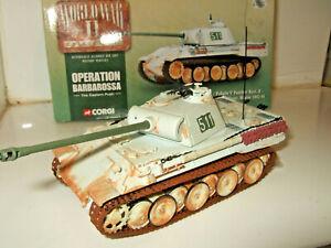 Corgi CC60203 PzKpfw V Panther Ausf.A Panzer Regt, Eastern Front,Winter,  1:50