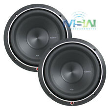 "(2) ROCKFORD FOSGATE P2D4-12 12"" PUNCH P2 DUAL 4-OHM SUB WOOFERS 800W RMS *PAIR*"