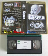 film VHS  CASPER IL FILM LA NUOVA AVVENTURA Harvey Comics 2000  (F5) no dvd
