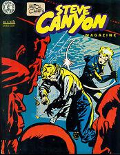 STEVE CANYON #5 by Milton Caniff (1984) Kitchen Sink Comics magazine FINE