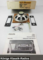 Philips Radio Einbausatz für Ford Capri ab 1969 - NOS