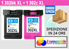 2 Cartucce comp. per HP 302XL Nero e Colore OfficeJet 3800 Series OfficeJet 3830