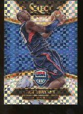 2014-15 Panini Select Checkerboard Prizm Kobe Bryant USA Basketball HOF