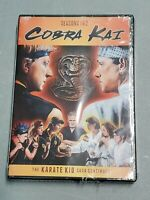 Cobra Kai: Seasons 1 & 2 [New DVD] 2 Pack  Brand new factory sealed
