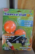 SWERVE BALL,SET OF 3,TRICK BASEBALL,THROW LIKE A PRO,KIDS 6+, AS SEEN ON TV
