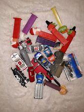 Estate Junk Drawer Lot - Cars, trucks, Pez Toys