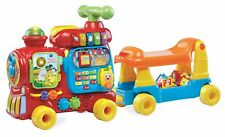 Push Toy Alphabet Train Sit-to-Stand Floor Ride-on Baby Walker Pull Educational