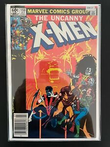 The Uncanny X-Men 159 Newsstand Edition Vampire Storm High Grade Marvel D34-17