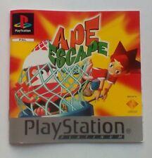 * Instrucciones Solamente * Ape Escape manual de instrucciones PS1 Psone Playstation