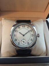 Unitas 6498 17 Jewel Pocket Watch to Wrist watch conversion w Gift Box