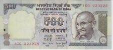 INDIA BANKNOTE P93a  500 RUPEES SIG 88 NO INSET LETTER W/O HOLES, EF+