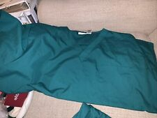 Apple for life Green scrub Nurse Aide Student set Size 3Xl Nice