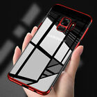 Stylish Hybrid Shockproof Plating Case Silicone Cover for Samsung Galaxy S9 S8