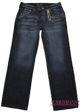 4Wards Jeans NEU L-Gr.90,94,98 Herren Denim Hose Dark Blue Used L34 Straight Fit