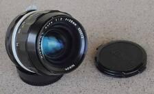 Nikon Nikkor N C 28mm F2 manual focus lens - great paint