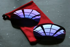 Purple Violet Polarized Replacement Sunglass Lenses for Oakley Jawbone