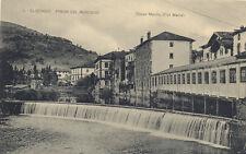 Tarjeta Postal. 3 Elizondo (Navarra). Presa del Mercado. Bazar Marín (Fot. Mena)