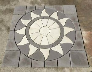 10ft Aztec  patio 3m x 3m Slate / light grey Infil  Inc Del (some exceptions)