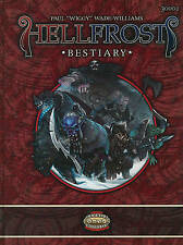 USED (VG) Hellfrost Bestiary (Savage Worlds, TAG30002) by Paul Wade-Williams