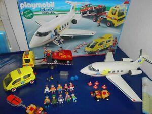 Playmobil 5059 Bergrettung OVP Flugzeug Abschlepper