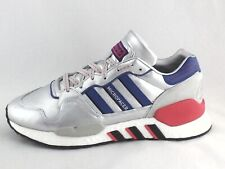 ADIDAS ZX930XEQT Micropacer Boost Shoes  Silver Blue EF5558 Men's New
