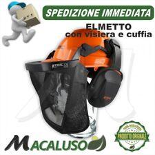 Casco protettivo con Visiera e Cuffie Stihl Function Basic Elmetto antinfortunis