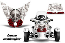 AMR Racing Can Am BRP RTS Spyder Hood Graphic Kit Wrap Roadster Decals BONES W
