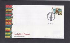 GB 2017 Ladybird Books single 2nd stamp Nelson FDC London WC sp pmk shows Nelson