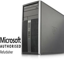 HP 6000 Tower C2D 2.8GHz 4GB 500GB DVD Windows 10 Home WiFi