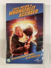 Wrongfully Accused VHS Tape English with dutch subs Clamshell